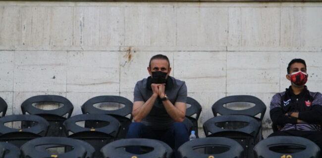 گلمحمدی: دلایل کافی برای لغو بازی با نساجی وجود نداشت/ ایراد از من است، به مهاجمان فشار وارد نکنید
