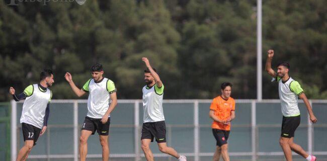 پرسپولیس در کمپ تیم ملی تمرین کرد