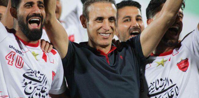 شادی هواداران پرسپولیس مقابل اتوبوس تیم/ سکوت گلمحمدی درباره احتمال حضور در تیم ملی فوتبال
