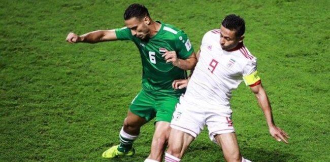 مدافع عراق: مقابل ایران با تمام وجود برای برنده شدن بازی می کنیم