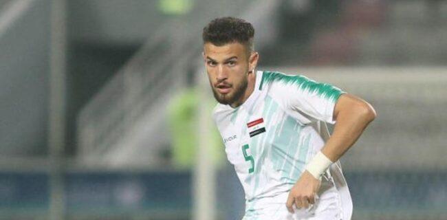 AFC اجازه حضور مدافع عراق مقابل ایران را نداد