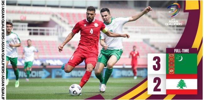 انتخابی جام جهانی شکست لبنان از ترکمنستان به نفع ایران شد+عکس