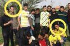 انتشار تصویر پرتاب کنندگان نارنجک به پرسپولیسیها/ هر دو مجرم فعلا آزاد شدند