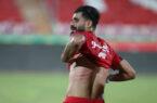 تصویر: زخمهای بدن کنعانی زادگان پس از حرکت خشن بازیکن آلومینیوم