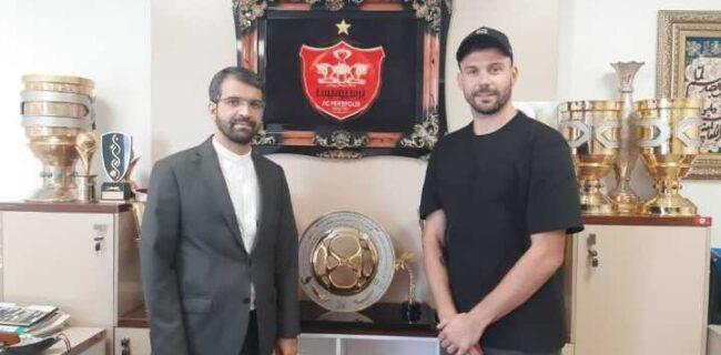 رادوشویچ با مدیرعامل پرسپولیس دیدار کرد
