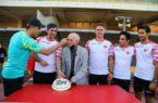 جشن تولد محمود خوردبین در ورزشگاه شهید کاظمی +تصاویر