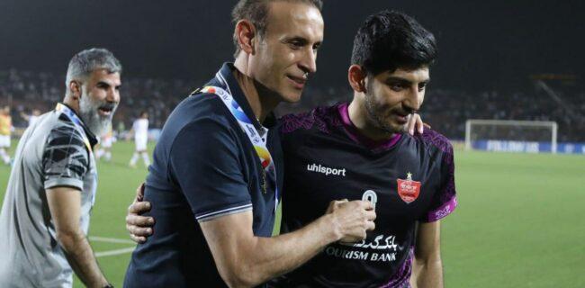 گلمحمدی: سلاح پنهانی ما مقابل استقلال غیرت بازیکنانم بود/ باشگاه قدردان این بچهها باشد
