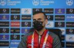 سید جلال حسینی: با تمام قدرت به میدان میرویم و امیدوارم برنده این بازی باشیم