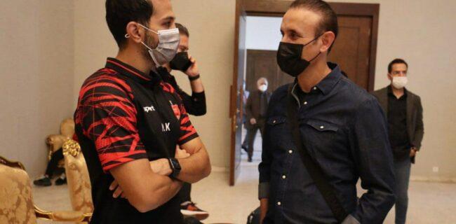 اعتراض گلمحمدی به لغو سفر پرسپولیس به عربستان + عکس