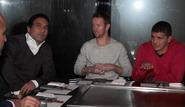 عکس: مهدوی کیا میزبان آپیا و کارنی در رستوران ژاپنی!