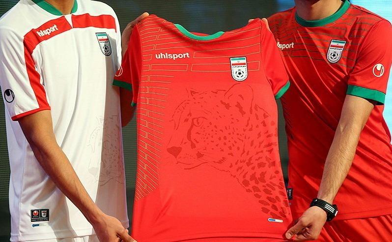 پیراهن تیم ملی در جام جهانی رونمایی شد + عکس