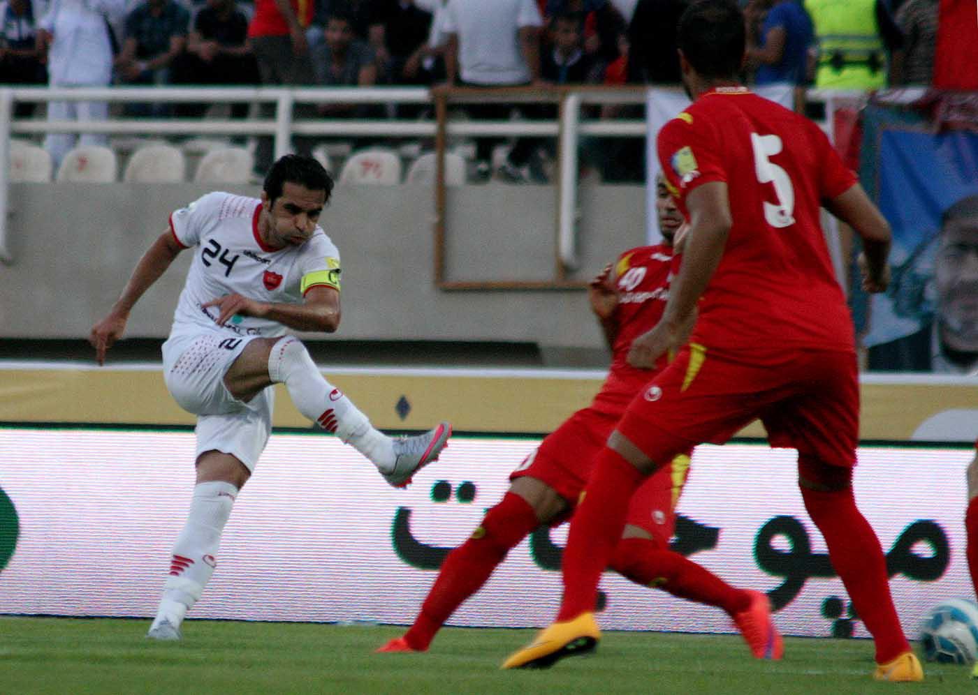 ویدئو: گل های مسابقه پرسپولیس ۳-۰ بهمن جوان