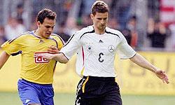 فریدریش در آستانه بازی با آرژانتین مسافر ولفسبورگ شد