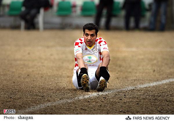 گلزنی عادل فردوسی پور در جام رسانه و ورزش
