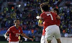 جشن و پایکوبی مردم کرهجنوبی