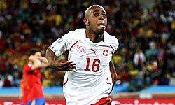 گلزن سوئیس بهترین بازیکن بازی با اسپانیا شد