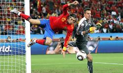 تساوی اسپانیا و پاراگوئه در نیمه نخست
