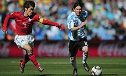 صعود آرژانتین با پیروزی پرگل برابر کرهجنوبی
