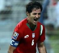کاپیتان باقری از تیم ملی خداحافظی کرد