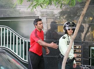 تصویر روز : عابدزاده با پیژامه در باشگاه