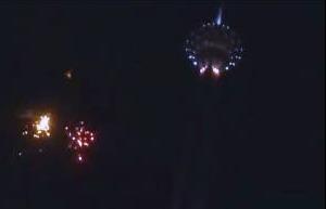 ویدئو / دنیزلی شگفتی ساز روز  اول جشنواره فجر+شادی بازیگران و آتش بازی برج میلاد
