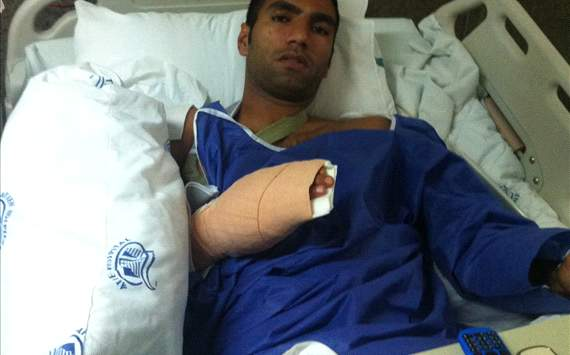عکس خبری: مهرداد پولادی بعد از عمل جراحی