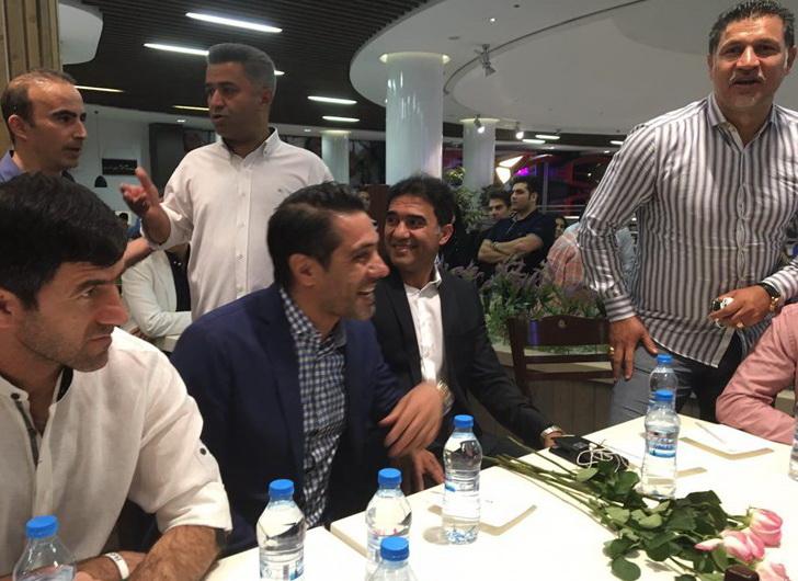 برگزاری جشن تولد عابدزاده به میزبانی شهریار+عکس