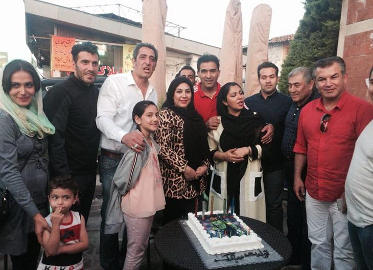 عکس / جشن تولد عابدزاده در متل قو برگزار شد