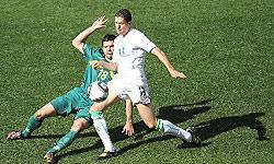 تساوی الجزایر و اسلوونی در نیمه اول